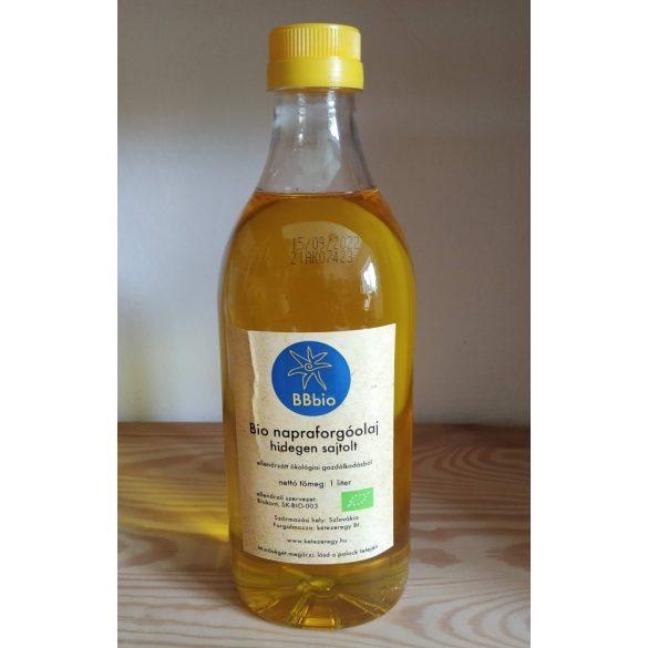 Bio Sonnenblumenöl - kalt gepresst - BBbio - 1 l
