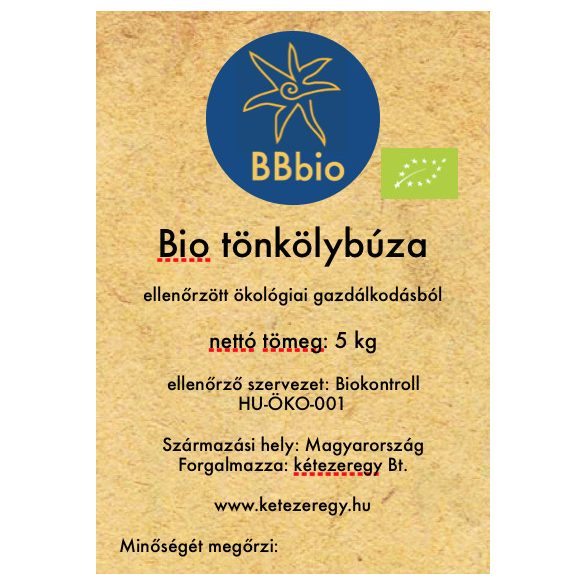 bio tönköly - BBbio - 5kg