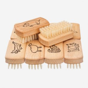 Kinder-Nagelbürste mit Tiermotiv