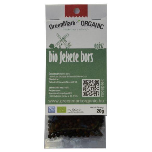 Bio Fekete bors, egész (Greenmark) 20 g