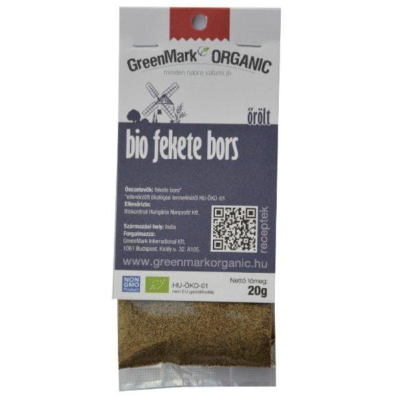 Bio Fekete bors, őrölt (Greenmark) 20 g