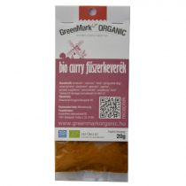 Bio Curry Gewürzmischung (GreenMark) 20 g