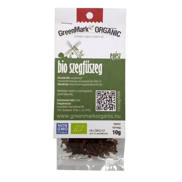 Bio Szegfűszeg, egész (Greenmark) 10g