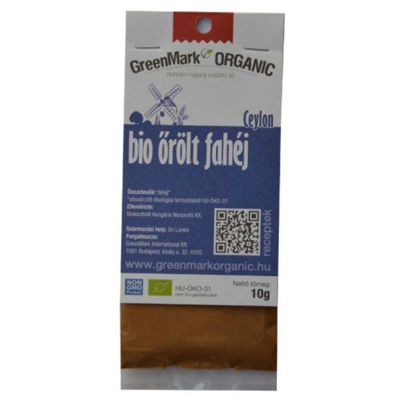 Bio fahéj - őrölt, Ceylon (Greenmark) 50g
