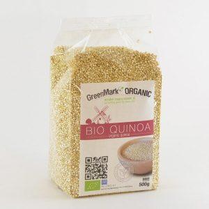 bio Quinoa fehér, 500g - Greenmark