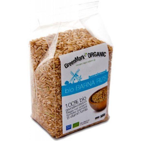 Bio Reis, ungeschält, Langkorn (Greenmark) 500 g
