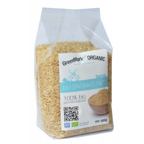 Bio Basmati Reis, ungeschält (Greenmark) 500 g