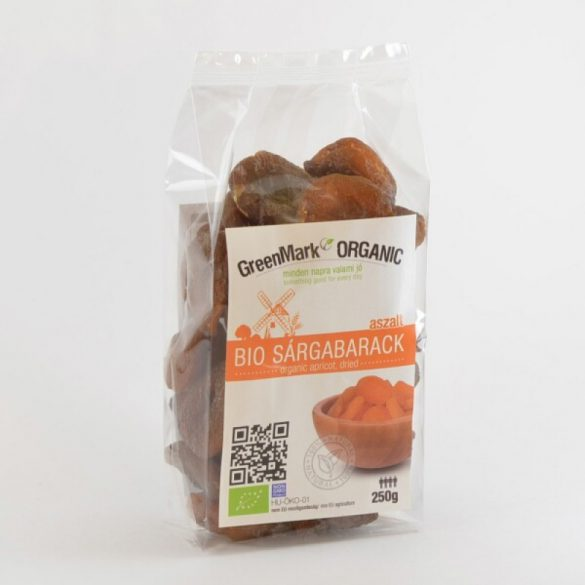 Bio Aprikosen, getrocknet (Greenmark) 250g