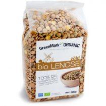 Bio Lencse zöld (Greenmark) 500g