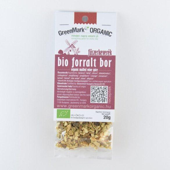 Bio forralt bor fűszerkeverék (Greenmark) 20 g