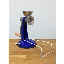 Mohnmühe mit Vakuumfuß - blau