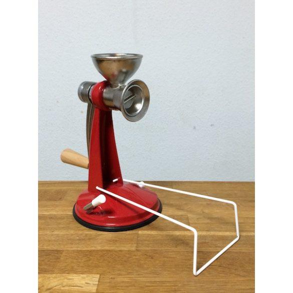 Mohnmühle mit Vakuumfuß - rot