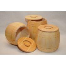 Holzfässchen - bauchig - 1 kg