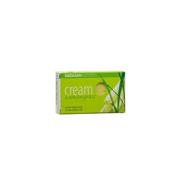 Sodasan szappan - citromfű - 100g