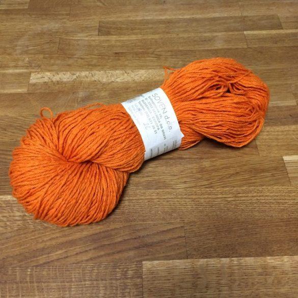 Biogyapjúfonal – festett - narancssárga I