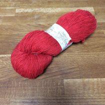 Bio-Wolle - gefärbt - rot