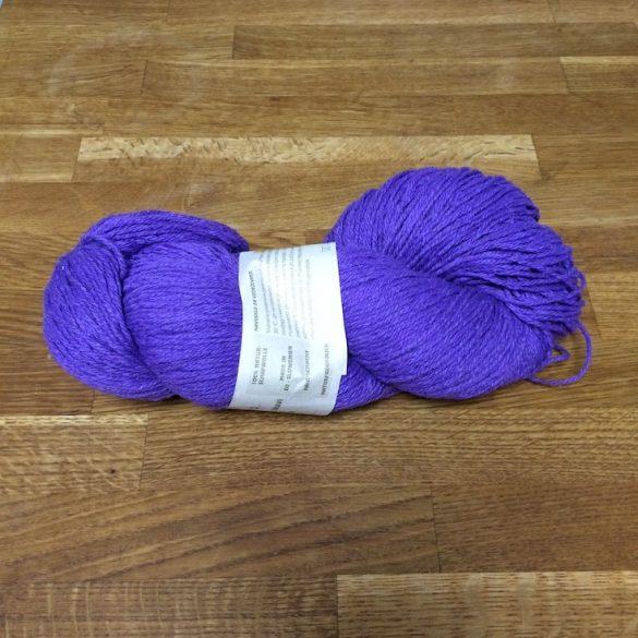 Bio-Wolle - gefärbt - lila