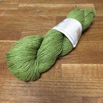 Biogyapjúfonal – festett - zöld
