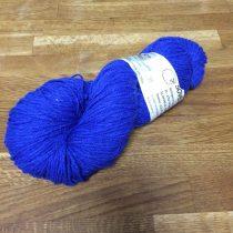 Bio-Wolle - gefärbt - blau