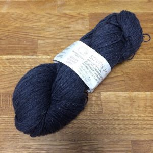 Bio-Wolle - gefärbt - schwarz