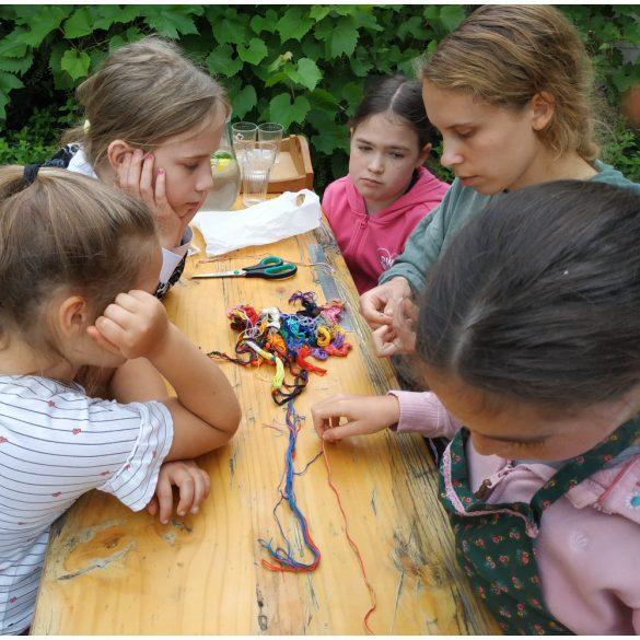 Szilvásgombóc-tábor - 2021. június 21–25., napközis főző- és kézművestábor 7-12 éves gyerekeknek