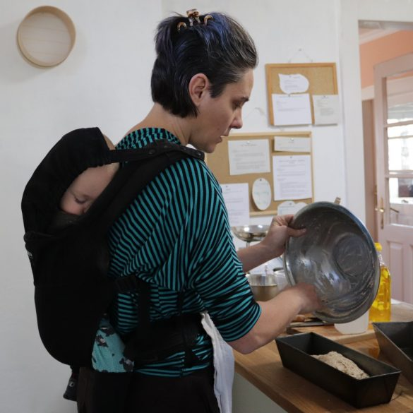 Kenyérsütő tanfolyam – kovászos kenyerek - 2021. július 3.