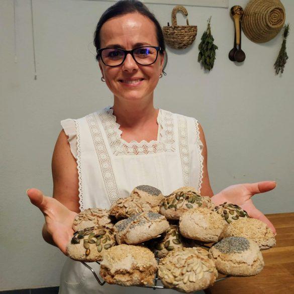 Kenyérsütő tanfolyam – kovászos kenyerek - 2021. október 9.