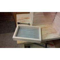 Kézi szita - szögletes - finomság 0,315 mm