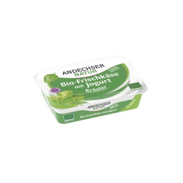 Biokrémsajt joghurttal, fűszeres